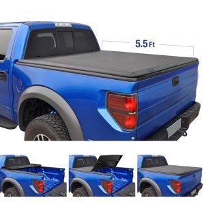 Tri-Fold Truck Tonneau Cover