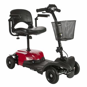 4. Drive Medical BobcatX4 Compact 4-Wheel Electric Scooters