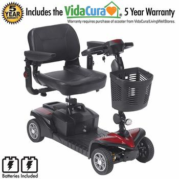 5. Drive Medical Scout 4 DST 4-Wheel Electric Scooter