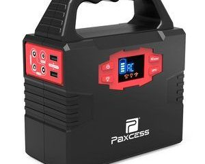 1. 100-Watt Portable Generator Power Station