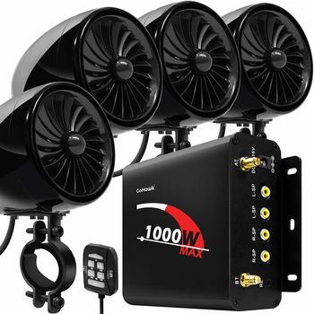 10. GoHawk TJ4-Q 1000W 4 Channel Amplifier