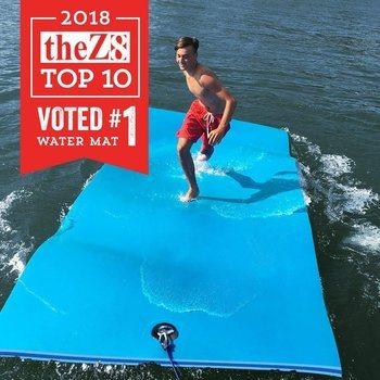 14. FloatDaddy 3-Ply Foam Lake Swim Mat Super Island 6 x 16