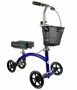 2. KneeRover Deluxe Steerable Knee Cycle Knee Walker Scooter