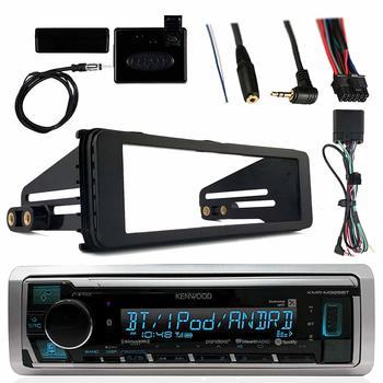 8. Kenwood Marine Radio Stereo Bluetooth Receiver Bundle