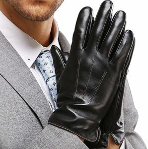 9. Leather Driving Gloves for Men, Cold Weather Gloves