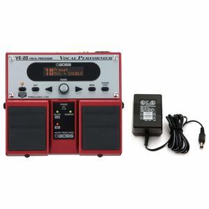 11. Boss VE-20 Vocal Performer Vocal Processor Pedal w-Power Supply