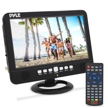 13. 10 Inch Portable Widescreen TV