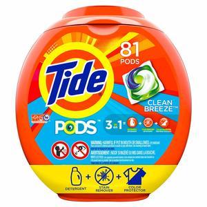 13. Tide PODS Laundry Detergent Liquid Pacs