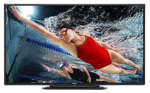14. Sharp Lc-80LE757 Aquos Quattron Smart LED 3D HDTV