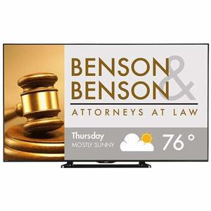 16. Sharp PN Class Brilliant HD Commercial LED TV