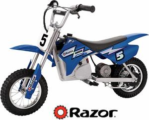 5. Razor MX350 Dirt Rocket Electric Motocross Bike