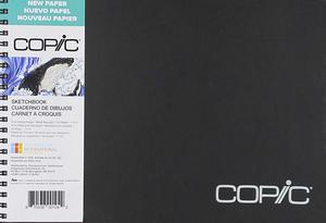 7. Copic Marker 50 Sheets Copic Sketchbook 7-inchX10-inch