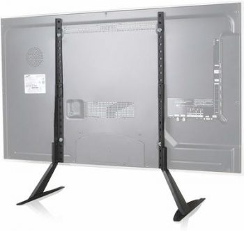 1. WALI Universal Table Top TV Stand for Most 22 to 65 inch LCD Flat TVs