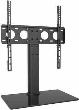 11. WALI Table Top 60-inch TV Stand with Glass Base and Security Wire