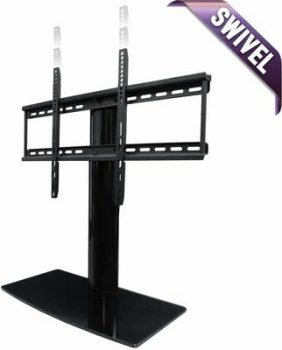 2. Universal TV Stand with height adjustment and swivel
