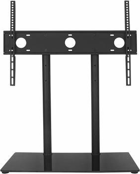2. WALI Table Top TV Stand Fits Most 32 to 60 60-inch TV Stand and Plasma Flat Screen