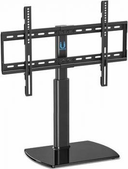 4. Fitueyes Universal TV Stand 32 to 65 inch Flat TVs