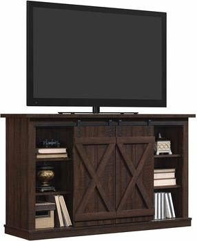 7. Pamari 50-inch TV Stand Wrangler Sliding Barn Door TV Stand