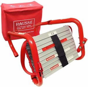 10. Hausse Retractable 3 Story Fire Escape Ladder