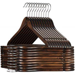 ZOBER Wood Hangers
