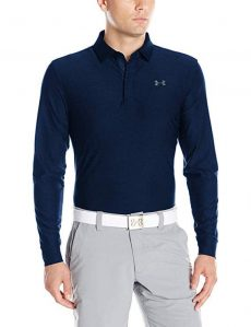 Under Armour Long Sleeve Golf Shirts