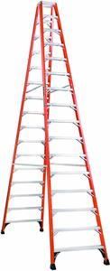5. Louisville Extension Ladder FM1416HD Fiberglass Twin Ladder