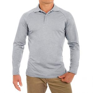 Comfortably Collared Long Sleeve Golf Shirts