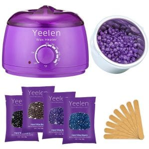 Yeelen Hair Removal Kit Hot Wax Warmer