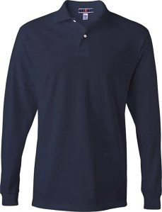Jerzees Long Sleeve Golf Shirts