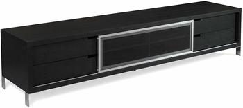 7. ROMO Dark Oak TV Unit 90-inch TV Stands