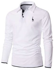 Men's Casual Slim Fit Polo T-shirts