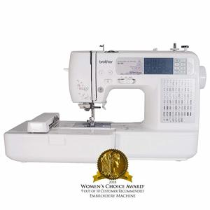 1. Brother SE400 Combination Computerized Sewing and Embroidery Machine