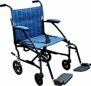 1. Drive Medical Fly Lite Ultra Lightweight Wheelchair