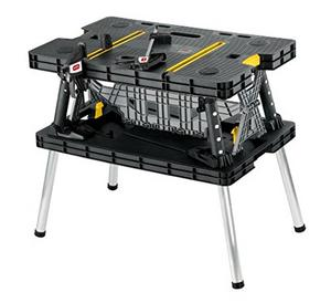 1. Keter Folding Table Work Bench - Best Portable Workbenches