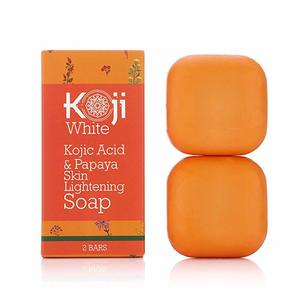 #1. Kojic Acid and Papaya Lightening Soap with Hyaluronic Acid (2.82 oz 2 Bars)