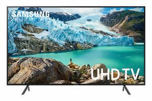 #1. Samsung UN75RU7100FXZA Flat 4K UHD Smart TV