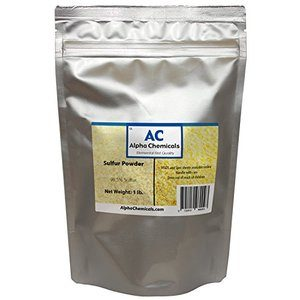 #1. Sulfur Powder (Brimstone) with 99.5% Purity