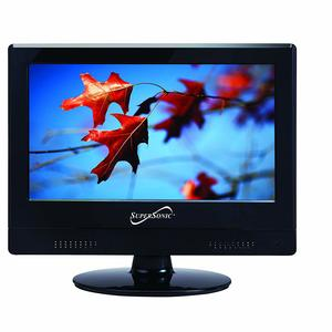 #1. Supersonic SC-1311 1080p LED Widescreen HDTV 13.3-Inch TV with HDMI Input…