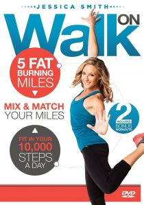 Burning Miles Walking Exercise DVD