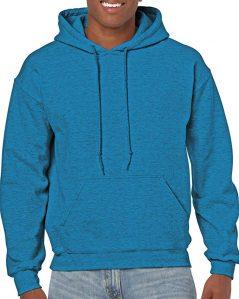 Gildan's fleece hooded sweatshirt