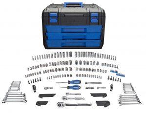 Kobalt227-Piece Standard Mechanics Tool Set