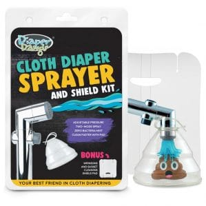 Spray Pal Cloth Diaper Sprayer and Splatter