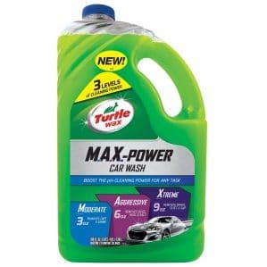 Turtle Car Wash Soap Max Power Car Wash