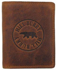 Genuine Leather Wallets for Men Handmade Bifold Wallet