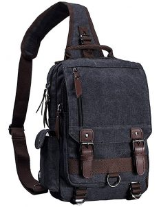 Canvas Cross Body Messenger Bags for Men