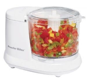 Proctor Silex Durable Small Food Processor and Vegetable Chopper