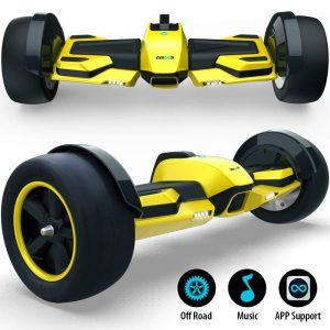 Gyroor G-F1 8.5-inch Off Road Hover Board with Bluetooth Speaker&LED Lights