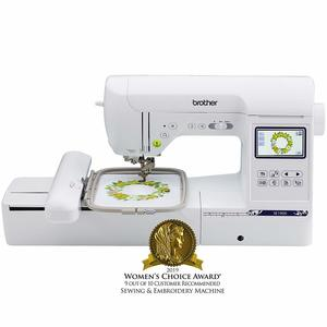 10. Brother Computerized Sewing and Embroidery Machine