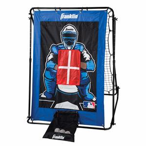 10. Franklin Sports Pitch Back Baseball Rebounder and Pitching Target