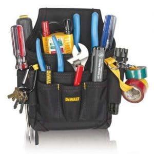 Dewalt Electrician Handy Man Tool Belt Pouch Holster